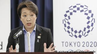Japan Tokio 2019   Seiko Hashimoto, Ministerin für Olympia (picture-alliance/dpa/Kyodo)