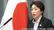 Japan Tokio 2019 | Seiko Hashimoto, Ministerin für Olympia