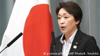 Japanese Olympic Minister Seiko Hashimoto