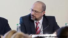 Ukraine Kiew Denys Shmygal, Minister für Kommunen