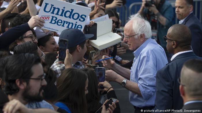 USA Vorwahlen der Demokraten   Bernie Sanders