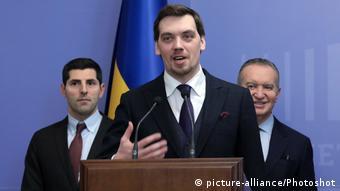 Экс-премьер Украины Алексей Гончарук