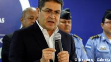 Honduras Juan Orlando Hernandez ARCHIV