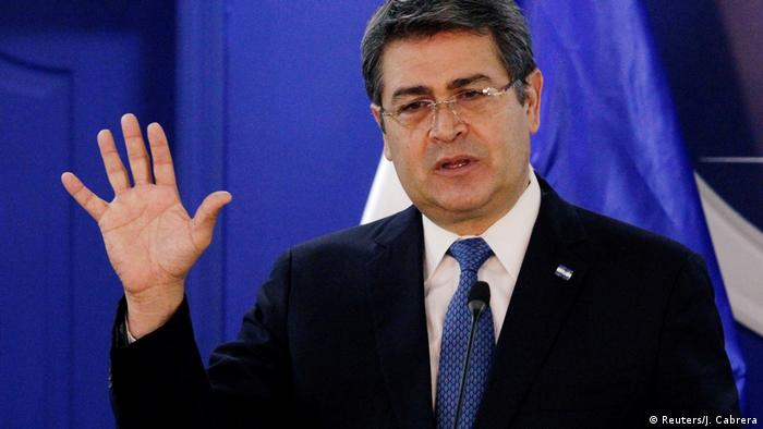 Honduras Juan Orlando Hernandez
