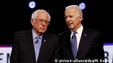 USA Super Tuesday | Bernie Sanders und Joe Biden ARCHIV