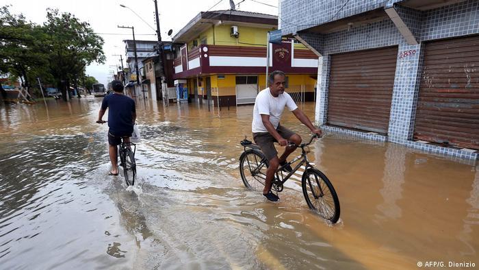 Brasilien Mindestens 15 Tote bei extremen Regenfällen