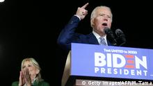USA Super Tuesday | Joe Biden in Los Angeles
