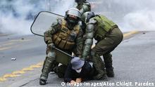 Chile Erneut Ausschreitungen bei regierungskritischen Protesten