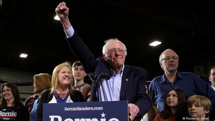 USA Super Tuesday   Bernie Sanders Vermont