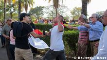 Nicaragua Proteste bei Trauerfeier für Ernesto Cardenal