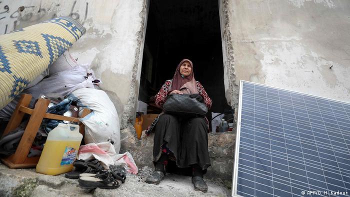 Syrien Notunterkunft in Idlib