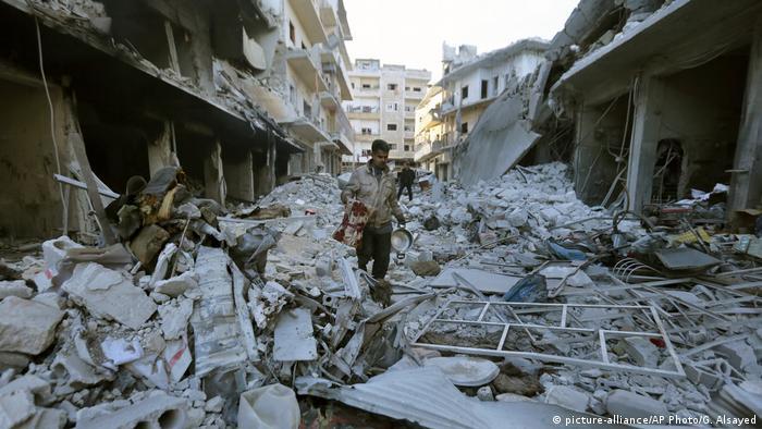 دمار هائل أصاب البنية التحتية في إدلب