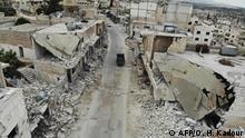 Syrien Zerstörung von Wohngebieten und Infrastruktur in Idlib