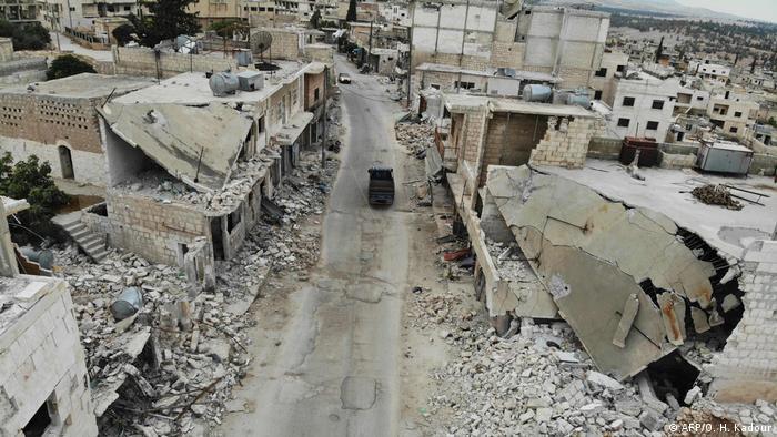 Разрушения в Идлибе, ноябрь 2019