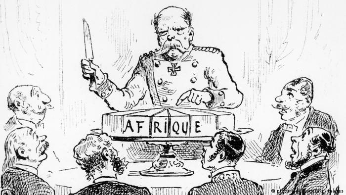 Kongokonferenz Berlin1884 Karikatur