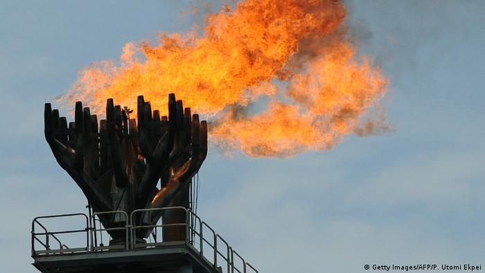 Gas flaring (Getty Images/AFP/P. Utomi Ekpei)