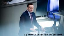 Bundestag - Regierungserklärung zu Coronavirus - Jens Spahn