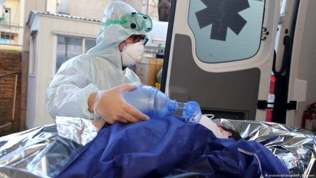 Irán envía a Estados Unidos kits de prueba del coronavirus