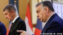Tschechien Visegrad-Gipfel in Prag