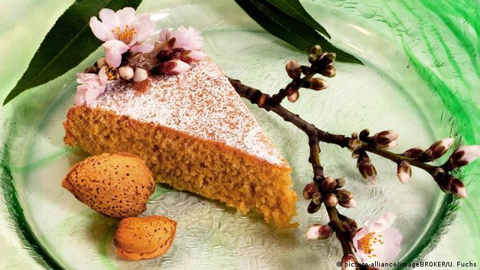 Миндальный тортик