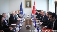 Türkei Ankara | EU-Vertreter Jospep Borrell zu Besuch in der Türkei