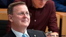 Thüringen Erfurt Landtag Wahl Ministerpräsident Ramelow Die Linke