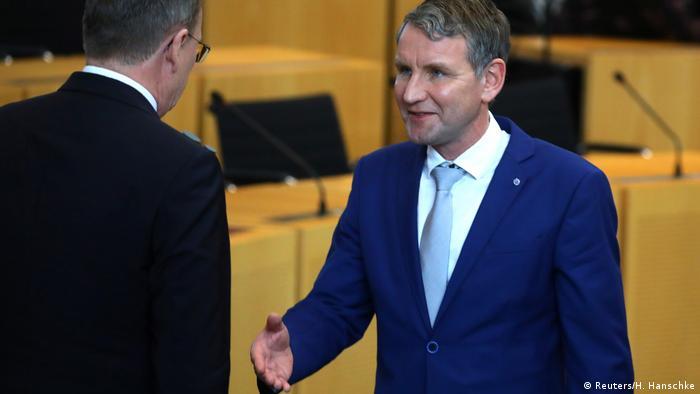 Ramelow rejeita mão estendida de Höcke