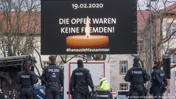 Komemoracija za žrtve u Hanauu