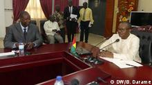 Guinea-Bissau Bissau Kabinettsitzung mit Präsident Umaro Sissoco Embaló