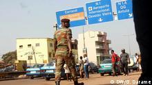 Guinea-Bissau Hauptstraße in Bissau
