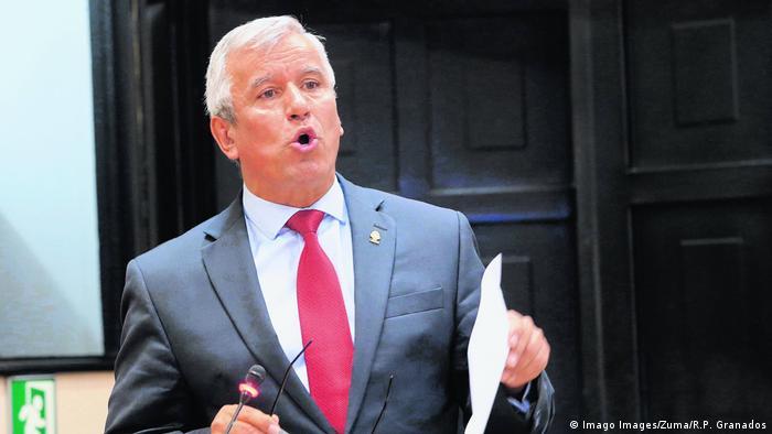 Costa Rica Minister-Rücktritt Victor Morales