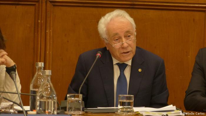 Portugal Lissabon Carlos Costa Gouverneur der Nationalbank