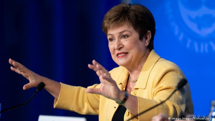 IWF Direktorin Kristalina Georgieva