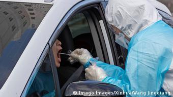 «Drive-in» τεστ για τον κορωνοϊό στη Νότια Κορέα