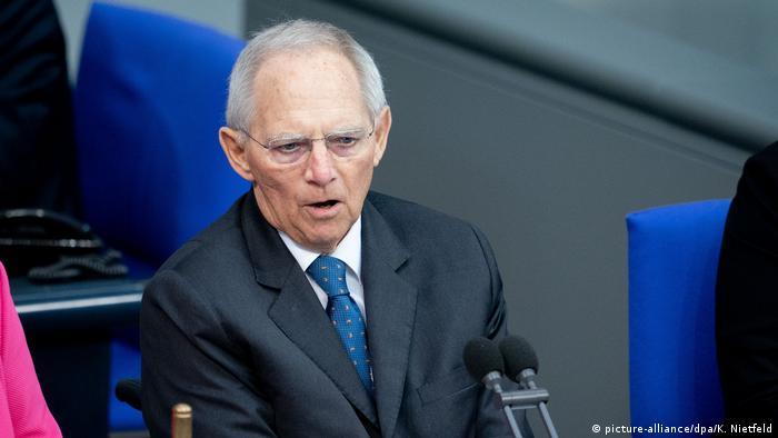 Przewodniczący Bundestagu Wolfgang Schaeuble