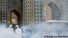 Coronavirus Iran Mashhad