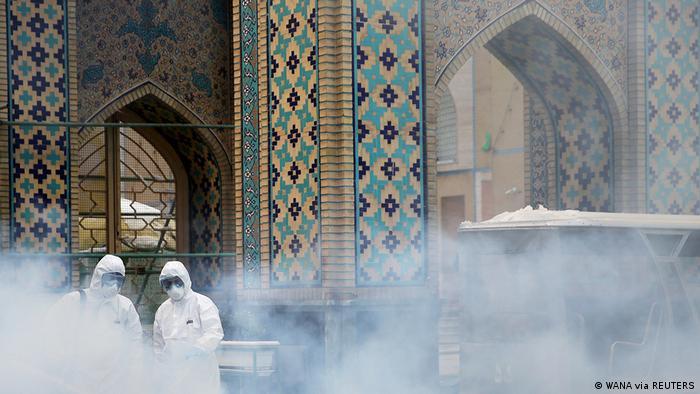 ضدعفونی زیارتگاهی در مشهد