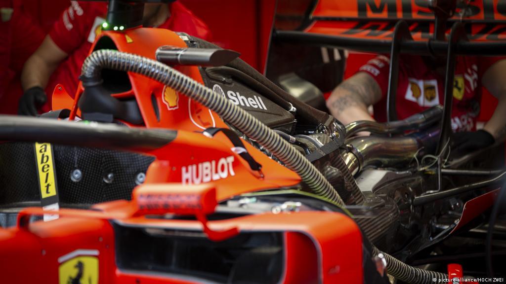 Formula 1 Ferrari Under Suspicion For Alleged Engine Cheating Sports German Football And Major International Sports News Dw 06 03 2020