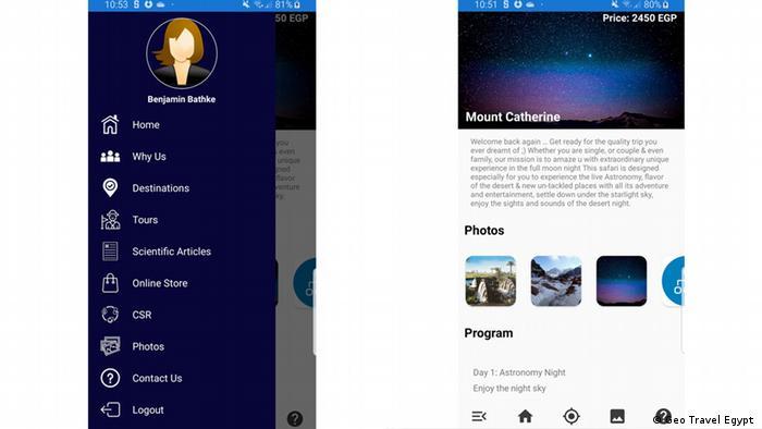 Bildkombo Screenshot Geo Travel Egypt
