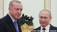 Russland Türkei Erdogan Putin