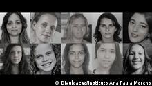 Vermissten Personen Beschreibung: Impar NGO-Kampagne zur Suche nach vermissten Personen - FindHope Project Copyright: Divulgação/ Instituto Ana Paula Moreno