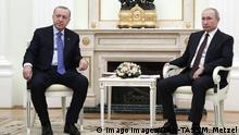 Russland Moskau | Recep Tayyip Erdogan und Vladimir Putin