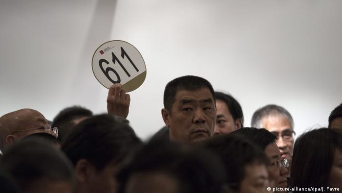 China Guardians Auktionen debütieren in Hongkong