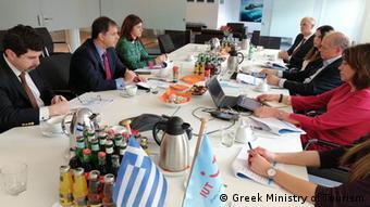 Συνάντηση του κ. Θεοχάρη με εκπροσώπους της TUI στο Βερολίνο
