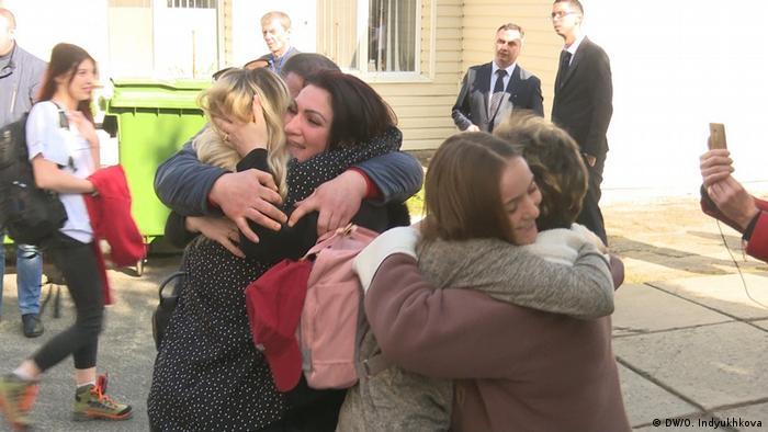Встреча после окончания 14-ти дневного карантина в Новых Санжарах