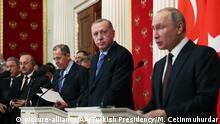 Moskau PK Erdogan - Putin