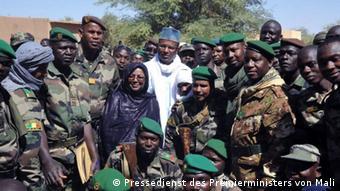 Le Premier ministre Boubou Cissé à Kidal le 5 mars 2020