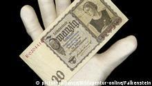 Deutschland Banknote von 1939 über 20 Reichsmark