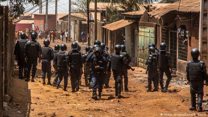 A Conakry, de nombreux incidents ont opposé ces derniers mois, les manifestants à la police