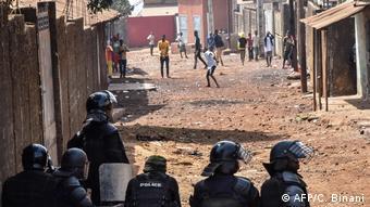 Guinea Conakry Demonstration Ausschreitungen Polizei